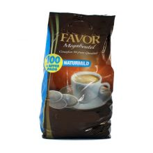 100 Favor coffee pods in XXL mega-pack mild roast