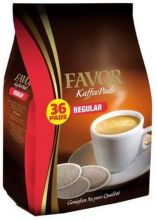 36 Favor coffee pods regular normal roast